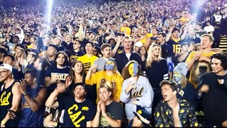 Late 4th Q and Postgame Celebration of Cal's Ole Miss Victory