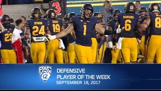 Downs Again Named Pac-12 Player of the Week