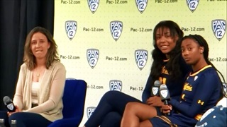 Gottlieb, Anigwe and Thomas Rep Cal at Pac-12 Media Day
