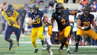 Four Bears Honored By Pac-12