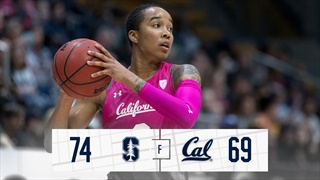 Bears Fall at Stanford, 74-69