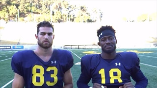 Bear Insider Video: TE Ian Bunting and WR Moe Ways