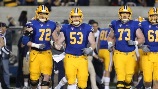 Cal Offensive Line Is Deep and Experienced