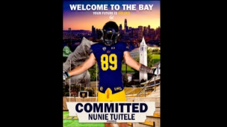 Tuitele Caps Strong Visit Weekend With Commitment to Cal