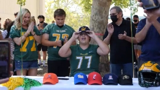 Brown Talks About Commitment to Cal