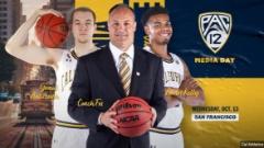 Pac-12 Men's Basketball Media Day: Fox, Kelly & Anticevich Talk Cal Hoops
